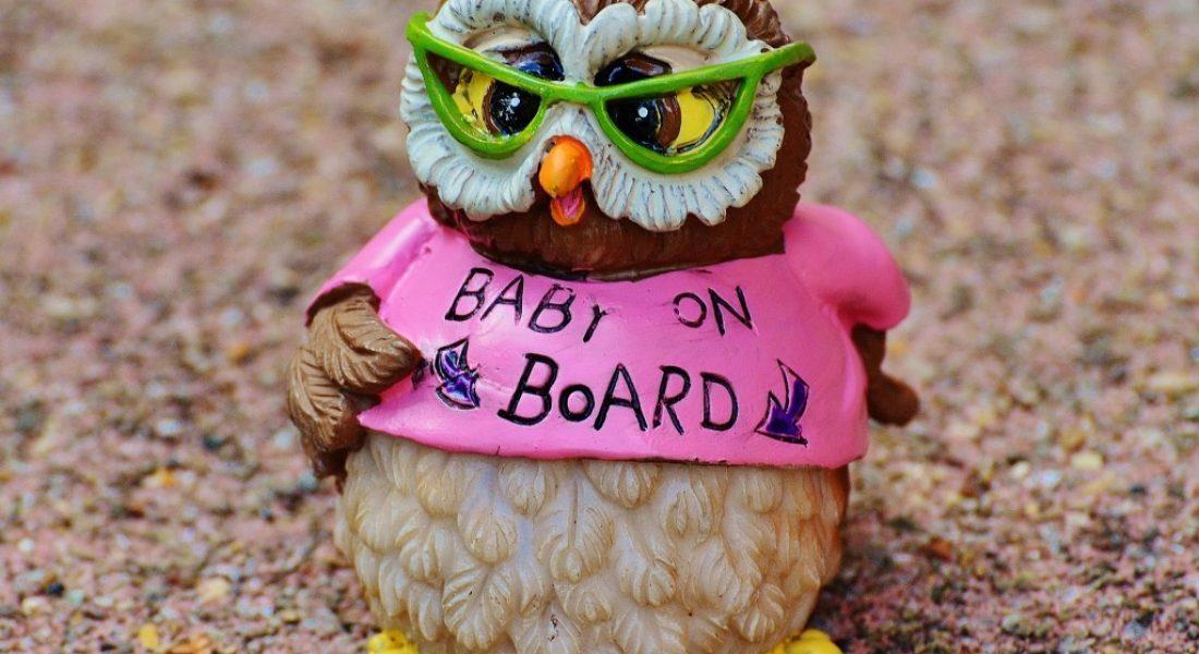 Week 5 pregnancy - baby on board - motherhooddiaries.com
