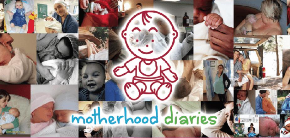 Motherhood Diaries header
