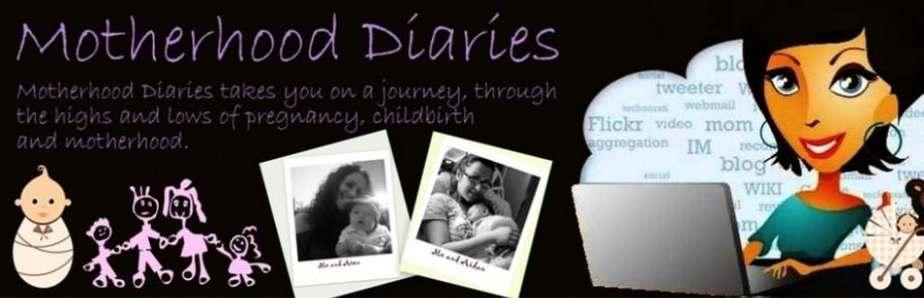 Old Motherhood Diaries header