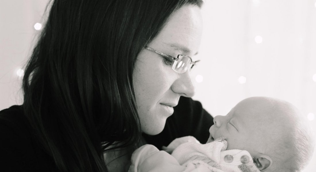Jack's birth story - Mother and newborn baby