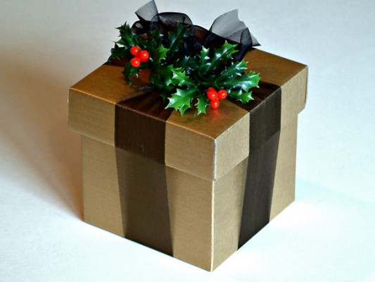 All I want for Christmas is a cardbox box