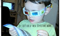 Weekend Box - 3D Glasses Activity