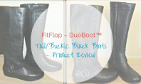FitFlop Dueboot TallBuckle Black Boots – Product Review - motherhooddiaries.com