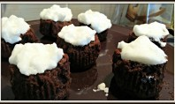 Recipe – Snowcapped Chocolate Fondants