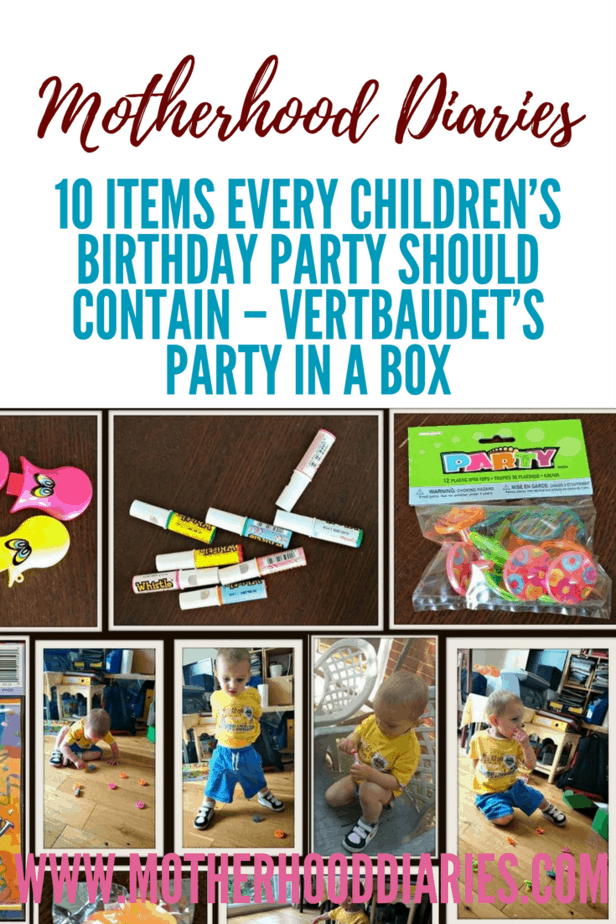 10 items every children's birthday party should contain - Vertbaudet's Party in a box - motherhooddiaries