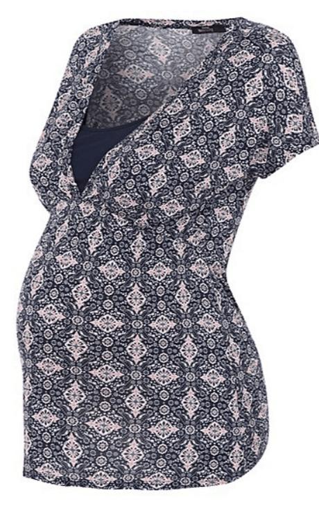 Maternity Nursing Floral Top