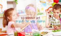 10 winter art projects for your chlidren - motherhooddiaries.com
