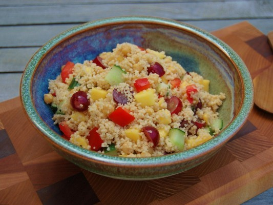 Fruity Couscous Salad – As part of Organix No Junk Lunchbox Challenge Recipes
