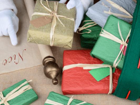 Santa claus' naughty and nice list
