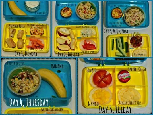 Organix No Junk Lunchbox Challenge