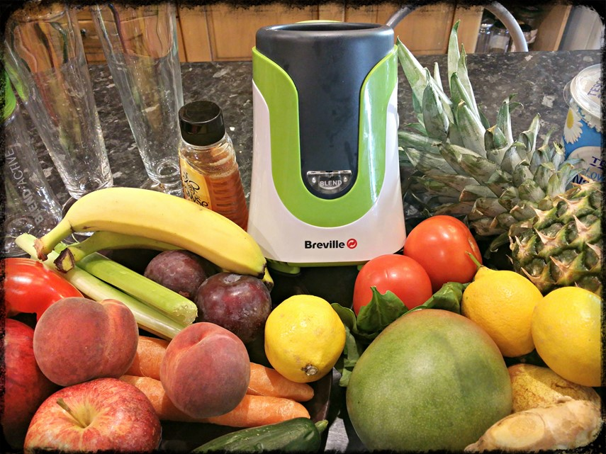 Breville Blend Active Family Pack - fruits and veg - motherhooddiaries