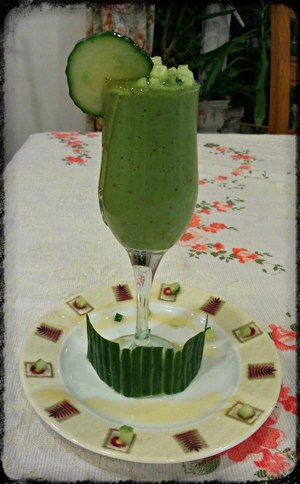 Green smoothie - brevillel blend active - motherhooddiaries
