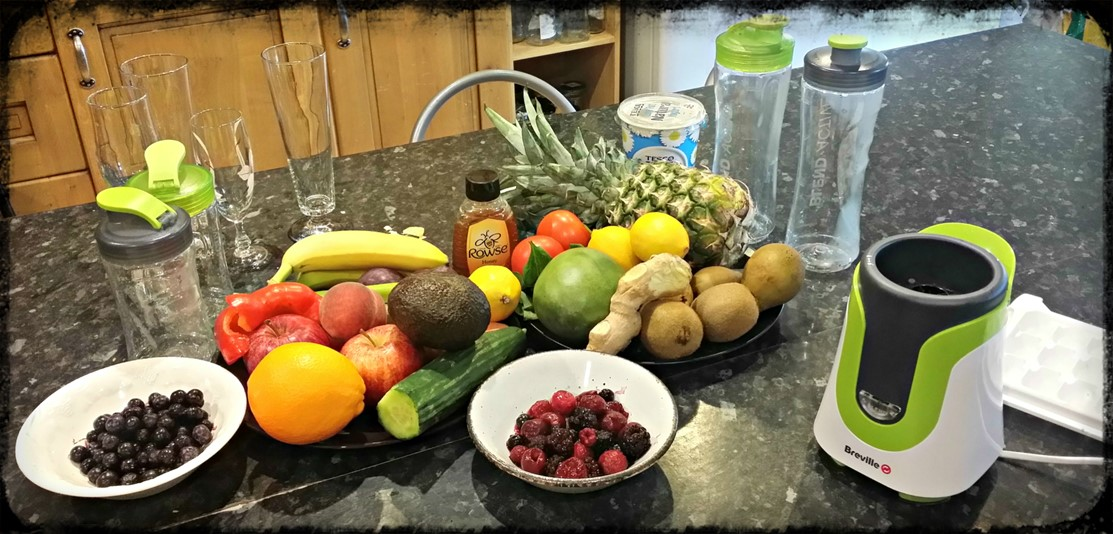 Breville Blend Active Family Pack - Fruits and vegetables - motherhooddiaries