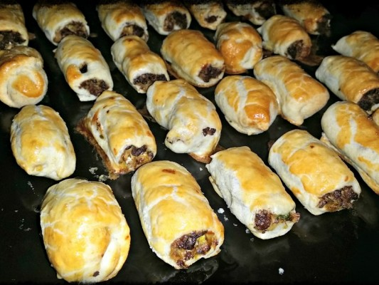 Quorn Mince Vegetarian Sausage Rolls Recipe