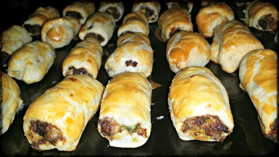 Quorn mince sausage rolls