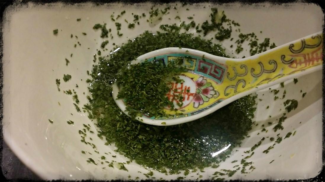 Chopped parsley - sausage rolls recipe