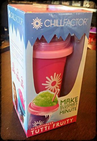 Chillfactor slushy cup