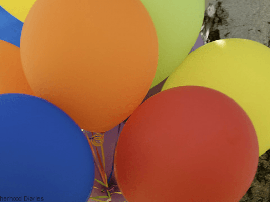 How I organised my sons party - motherhooddiaries.com