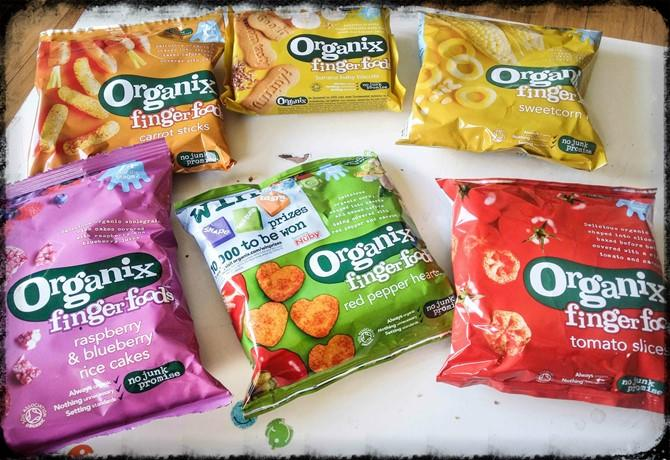Organix Finger Foods - motherhooddiaries.com