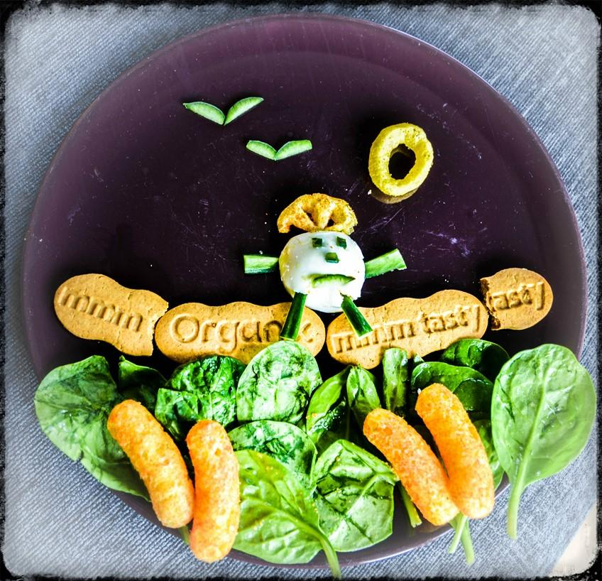 Nursery Rhyme Finger Food Plate - Humpty Dumpty - Organix with motherhooddiaries.com