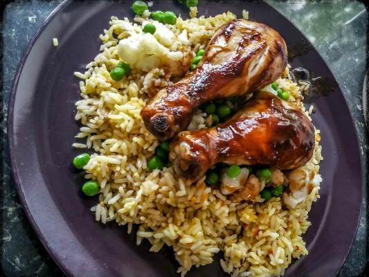 Schwartz Honey & Soy Marinade in a bag chicken - motherhooddiaries.com