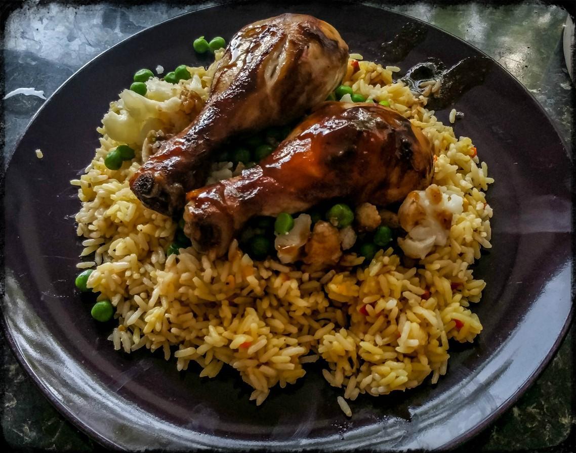 Honey & Soy Chicken (using Schwartz Marinade Bag) Recipe