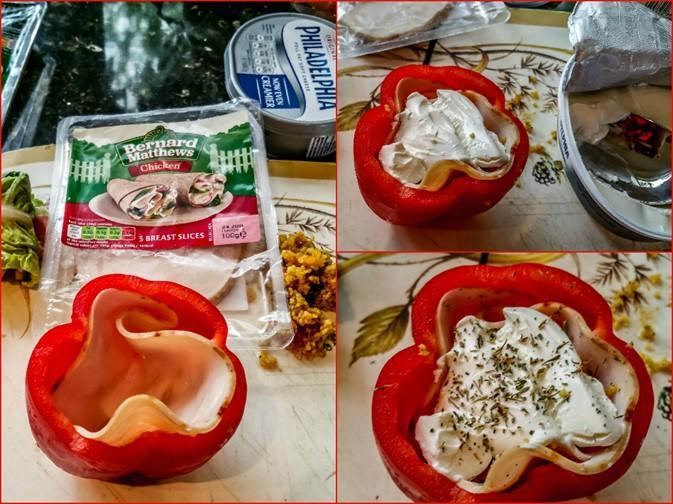 Bernard Matthews 'Breadless Lunches' #Bootifulideas - Stuffed Bell Pepper - motherhooddiaries.com