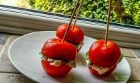 Bernard Matthews 'Breadless Lunches' #bootifulideas - Tomato Burger - motherhooddiaries.com