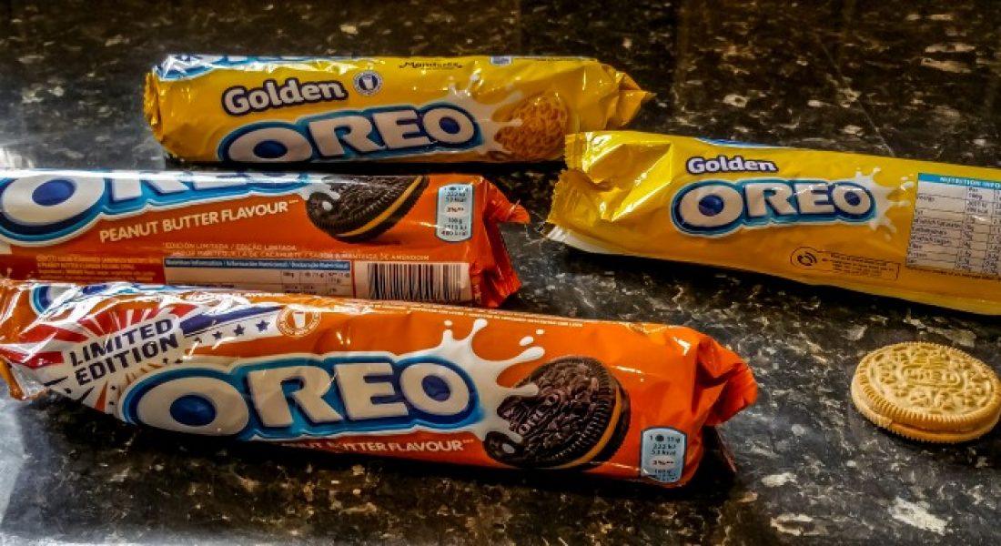 Golden Oreo & Peanut Butter Oreo - motherhooddiaries.com