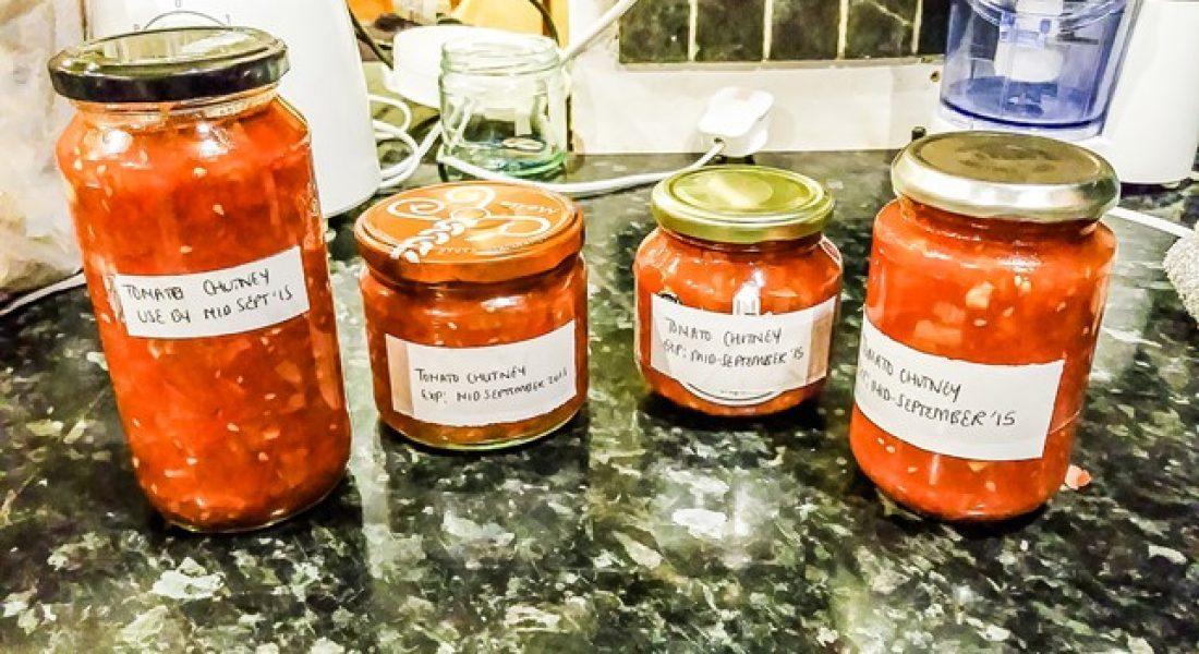 Tomato Chutney Recipe - motherhooddiaries.com
