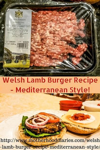 Welsh Lamb Back to School Campaign - includes Welsh Lamb Burger Recipe