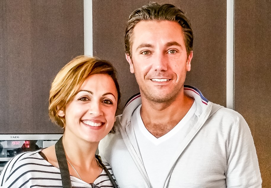Gino D'Acampo and Leyla Preston - Motherhooddiaries.com