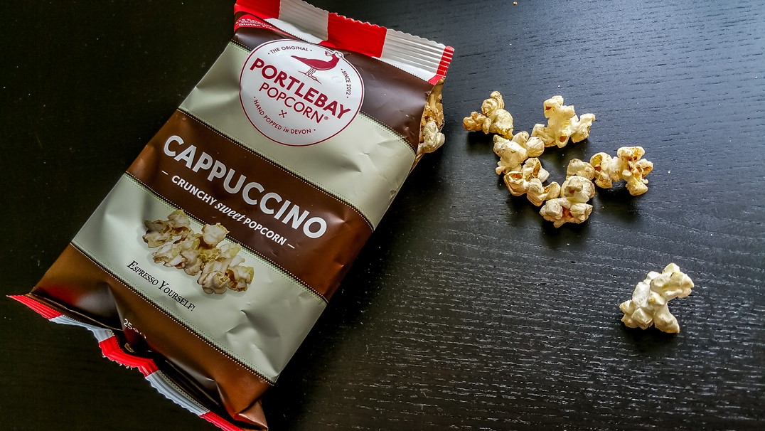 Portlebay Popcorn Cappuccino - September Degustabox 2015 - motherhooddiaries.com