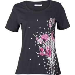 Onfire Women's T-Shirt Black in Size 10 - mandmdirect.com - motherhooddiaries.com