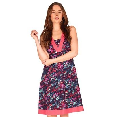 Onfire Women's Dress Navy Multi in Size 10 - mandmdirect.com - motherhooddiaries.com
