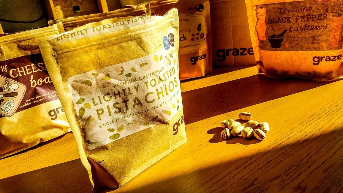 graze sharing box - lightly toasted pistachios - motherhooddiaries.com