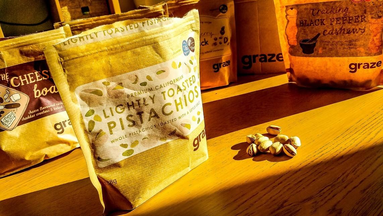 graze sharing box - lightly toasted pistachios - motherhooddiaries.com