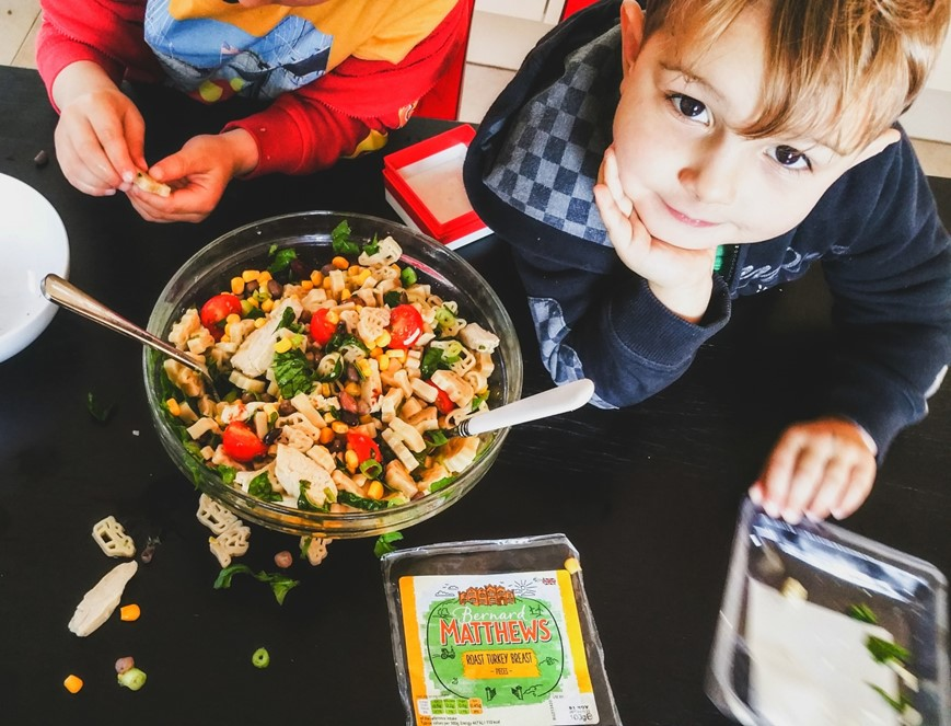 Bernard Matthews Lunchbox Challenge – 3 awesome recipes by kids for kids