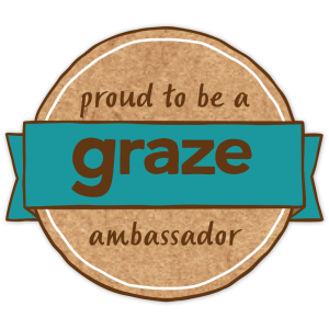 Motherhood Diaries proud to be a Graze Ambassador - Logo