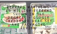Bernard Matthews £3 million rebrand - Google Cardboard Headset review - motherhooddiaries.com