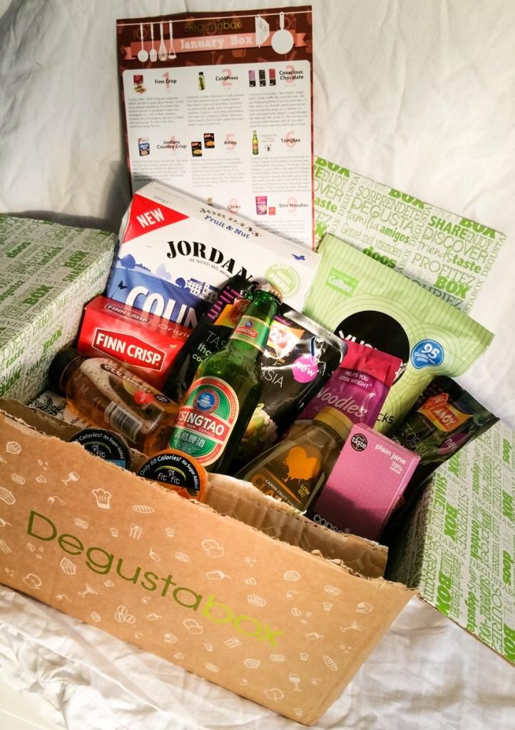 January 2016 Degustabox - Motherhooddiaries.com