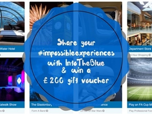 Share your #impossibleexperiences with IntoTheBlue - motherhooddiaries.com