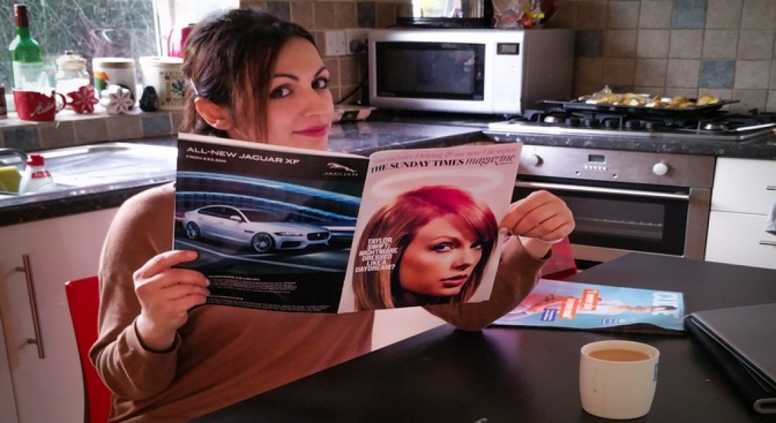 Spending time on Sunday with the New Sunday Times Magazine - motherhooddiaries.com