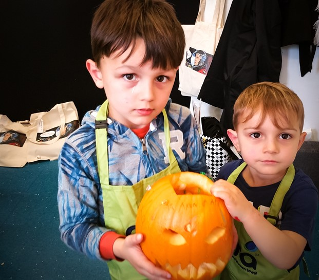 Finished pumpkin - Ora Cookery Event - motherhooddiaries.com