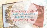 Have an egg-celent Easter with Wentworth's Eggxtra difficult jigsaws - motherhooddiaries.com