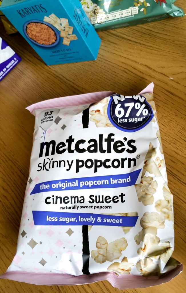 Metcalfe's Skinny Popcorn - March 2016 Degustabox - motherhooddiaries.com