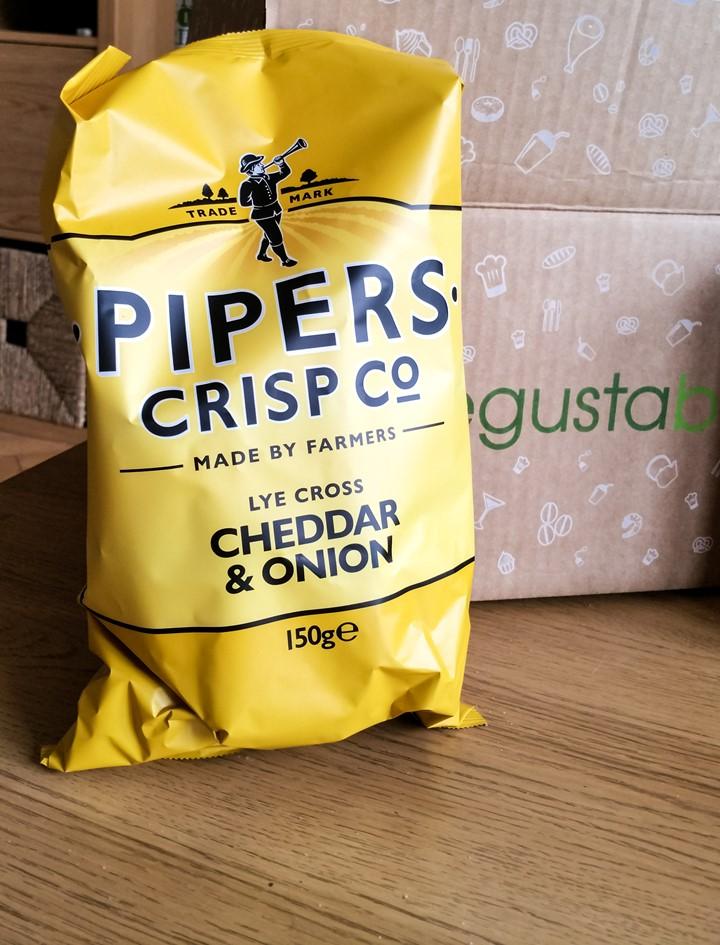 Pipers Crisp Co, Cheddar & Onion - March 2016 Degustabox - motherhooddiaries.com