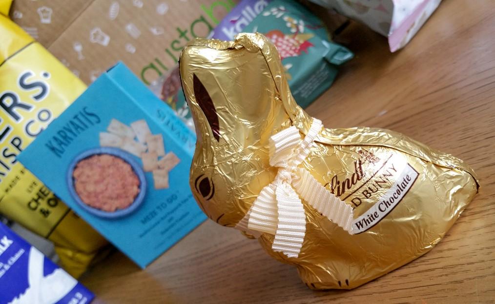 Lindt White Chocolate Bunny - March 2016 Degustabox - motherhooddiaries.com