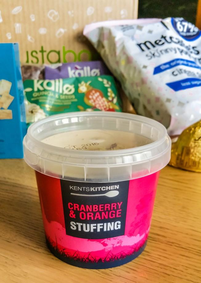 Kent's Kitchen Orange & Cranberry Stuffing - March 2016 Degustabox - motherhooddiaries.com