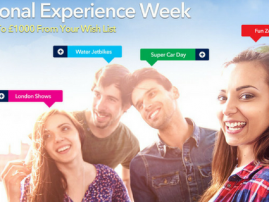 IntoTheBlue #NationalExperienceWeek Competition